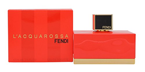Fendi L'Acquarossa, Eau de Toilette spray da donna, 75 ml