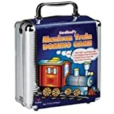 Mexican Train Domino Game in an Aluminum Case (styles may vary)