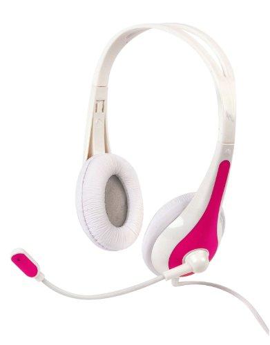 TNB Flextyle - Multimedia Kopfhoerer mit Mikrofon - Pink/Weiss