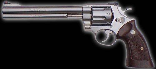 マルシン 【ガスガン】  S&W・M29・クラシック・Xカートリッジシリーズ8・3/8インチ Silver ABS
