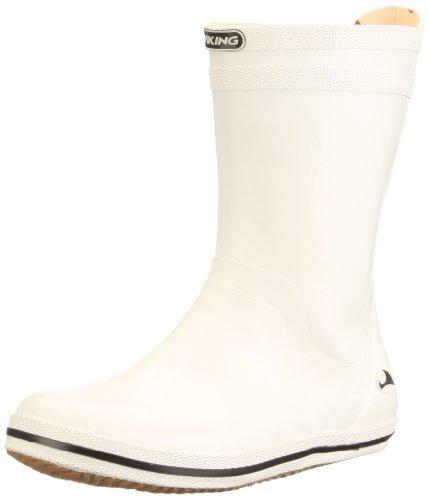 Viking Matros Rubber Boots Unisex-Adult White Weià (Weià 1) Size: 35