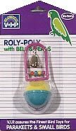 Vo-Toys Roly Poly with Bells and Beads Bird Toy