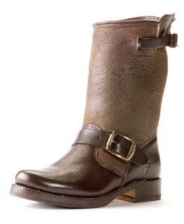 Image of FRYE 77509 VERONICA SHORTIE DARK BROWN (B004I9WYLW)