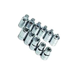 SK 19781 11 Piece 3/8-Inch Drive Pipe Plug Socket Set