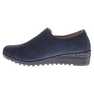 SPRING STEP Women's Sportivo Slip-On (Navy 39.0 M)