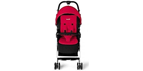 Brevi - Passeggino Mini Large Ultraleggero Rosso/Nero Ginger 2016