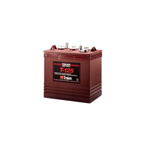 Trojan T-125 6V 240Ah Flooded Lead Acid GC2 Deep Cycle Battery FAST USA SHIP (Trojan Golf Cart Batteries compare prices)