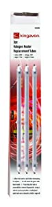 Halogen Heater Replacement Tubes - 197 mm Pack Of 3