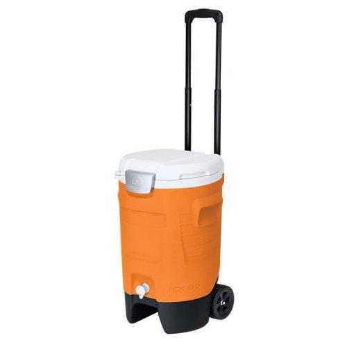 Igloo Sport Roller Beverage Cooler (Orange, 5 Gallon) front-406931