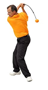 Orange Whip Mid-Size Golf Swing Trainer