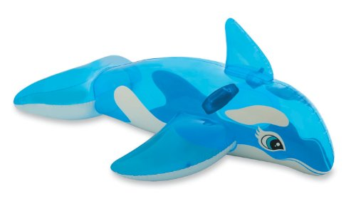 "Intex Lil' Whale Ride-On, 60"" X 45"", for Ages 3+ - 1"