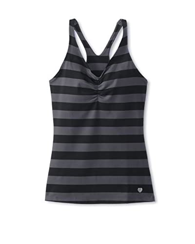 15Love Women's Racerback Tank with Built-In Shelf Bra