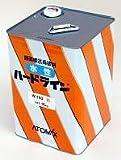 アトミクス ライン塗料 アトム水性ハードライン W-100 16Kg ライン消し用黒
