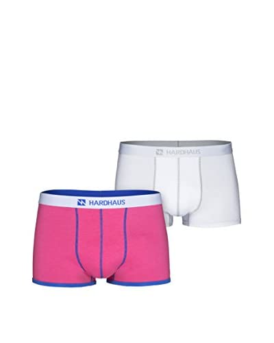 Hardhaus Men's 2 Pack Trunks with Contrast Stitching