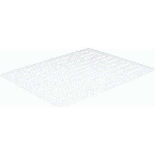 Sm wht sink mat 071691249689 - Rubbermaid kitchen sink divider mats ...