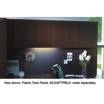 Mayline AHW72LDC - Aberdeen Series Laminate Wood Door Hutch, 72w x 15d x 39h, Mocha