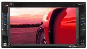 """6.2"""" Double-Din Touchscreen Led Monitor Am/Fm/Dvd Multimedia Receiver"""