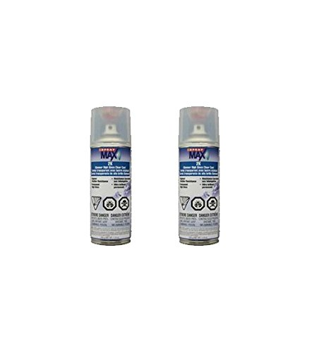 USC Spray Max 2k High Gloss Clearcoat Aerosol (2 PACK) (Clear Coat Spray Gun compare prices)