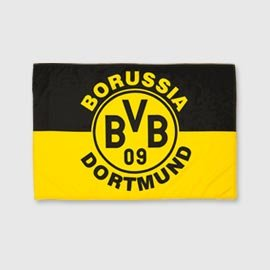 flagge fahne bvb dortmund emblem 90x60 cm garten. Black Bedroom Furniture Sets. Home Design Ideas