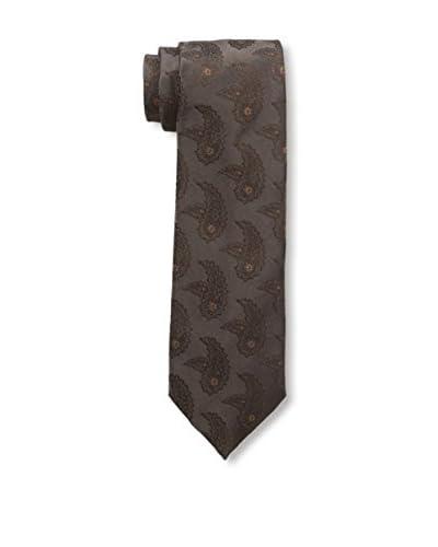 Isaia Men's 7-Fold Silk Tie, Brown