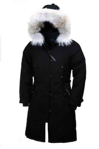Canada Goose Women's Kensington Parka,Black,Medium (Women Down Coat Canada Goose compare prices)