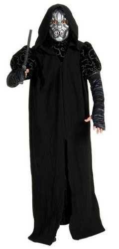 Deluxe Harry Potter Costumes Adults Death Eater Costume.