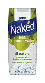 Naked 100% Naked Coconut Water 11.2oz Boxes 