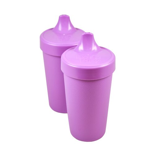 Re-Play Spill Proof Cups, Purple, 2 Count
