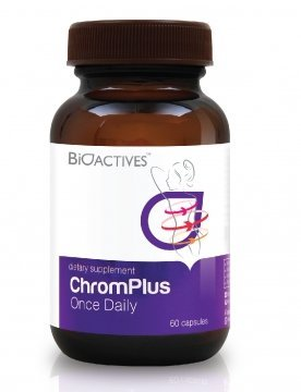 Bioactives Chromplus Once Daily Increases Fat Burning Pretty Healthy (60 Capsules).