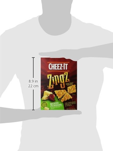 cheezit zingz wafer queso fundito 124 ounce home
