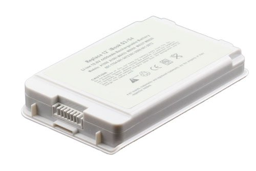 New Laptop Battery for Apple iBook G3 G4 12 inch A1008 A1061 M8403 M8433 M8956 M9007 M9008 M9184 M9337 M9018 M7692 M7698 M8520 M9164 M9426 M9623 Laptop Battery (Li-ion 10.8V 48Wh) by LB1 Favourable Performance�