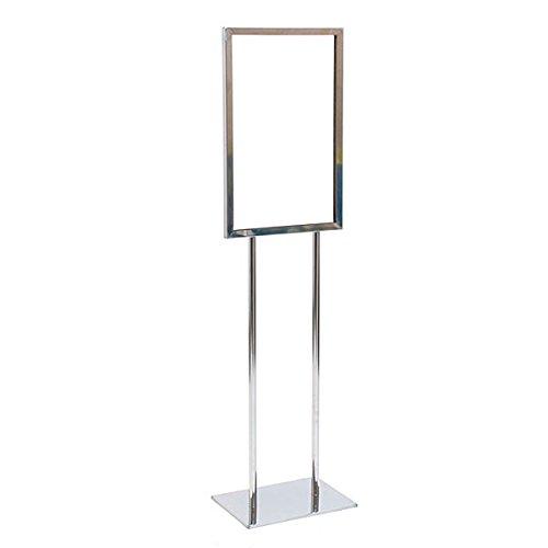 Kc store fixtures 10601 floor standing sign holder 14 x for 14 inch chrome floor standing fan
