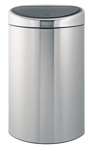 Brabantia Touch Bin, 40 Litre, Matt Steel Fingerprint Proof