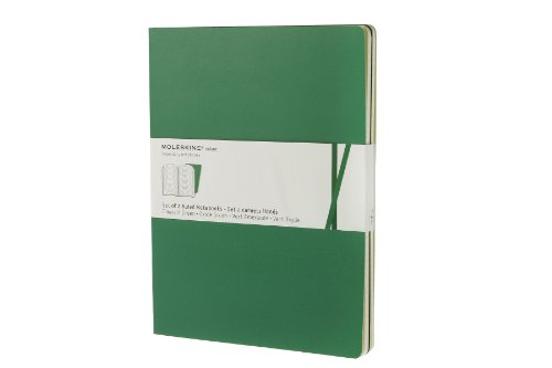 Moleskine Ruled Volant Notebook Extra Large Emerald