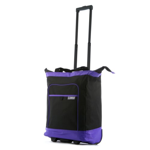 olympia-luggage-rolling-shopper-tote-purple-one-size