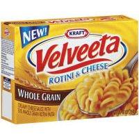 Kraft Velveeta Rotini & Cheese, Whole Grain, 10 oz, 2 pk