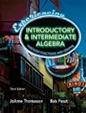 img - for Experiencing Introductory & Intermediate Algebra Through Functions & Graphs 3rd Edition [HC,2006] book / textbook / text book