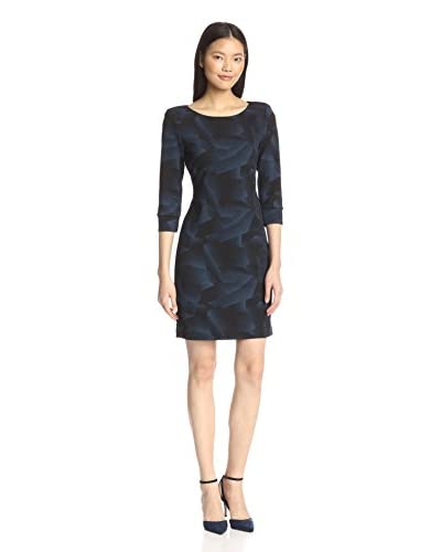 A.B.S. by Allen Schwartz Women's Boatneck Cropped Sleeve Dress