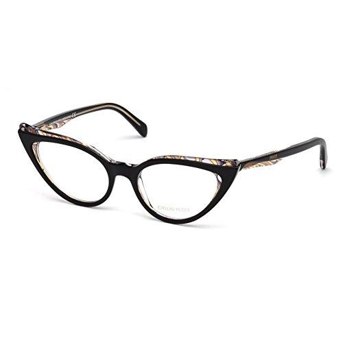 emilio-pucci-ep5051-005-occhiale-da-vista-nero-black-eyeglasses-sehbrille-new