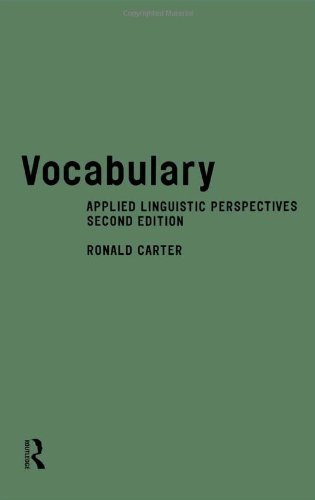 Vocabulary:: Applied Linguistic Perspectives (2nd Edition)