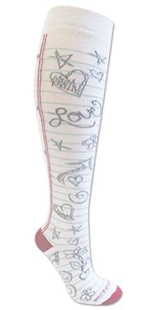 Doodle Socks White S/M