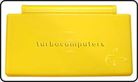 Pikachu Yellow - Nintendo DS Lite Complete Full Housing Shell Case Replacement Repair w/ Hinge Set