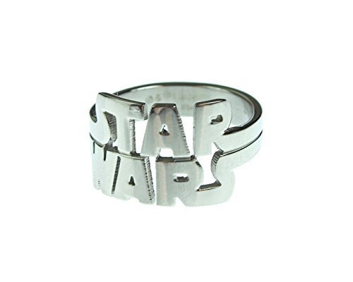 Star wars jewelry men 39 s cut out logo stainless steel ring for True frequency jewelry reviews