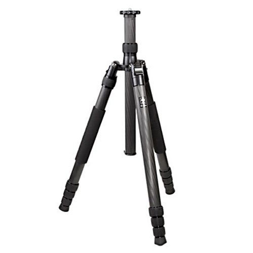 SIRUI 4 Section 8X Carbon Fiber Tripod N2204 Max Load 33lb with Travel Bag, Detachable Monopod, Additional Short Center Column