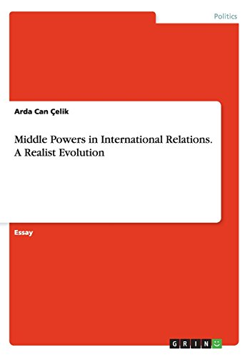 Middle Powers in International Relations. a Realist Evolution