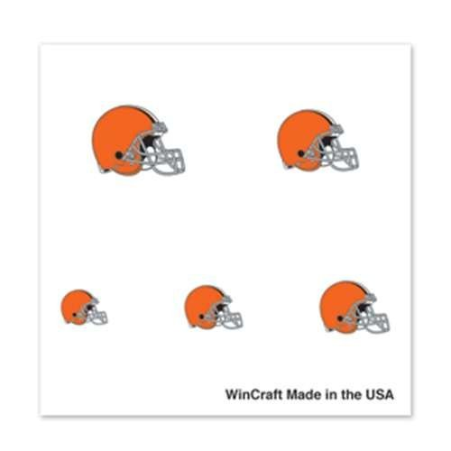 Cleveland Browns Fingernail Tattoos - 4 Pack