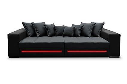 Sofá de Safir esquina sofá Bigsofa Big XXL sofá cama LED 01353