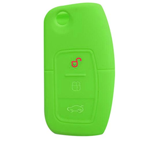 silikon-auto-schlussel-fernbedienung-cover-3-tasten-fold-schlussel-fit-fur-ford-fiesta-focus-2-grun