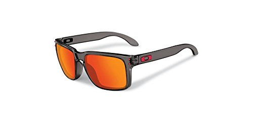 (オークリー)OAKLEY Holbrook OO9244-04  Grey Smoke w/ Ruby Iridium FREE