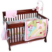 Dreams Come True 8 Piece Baby Crib Bedding Set By Just Born front-679474